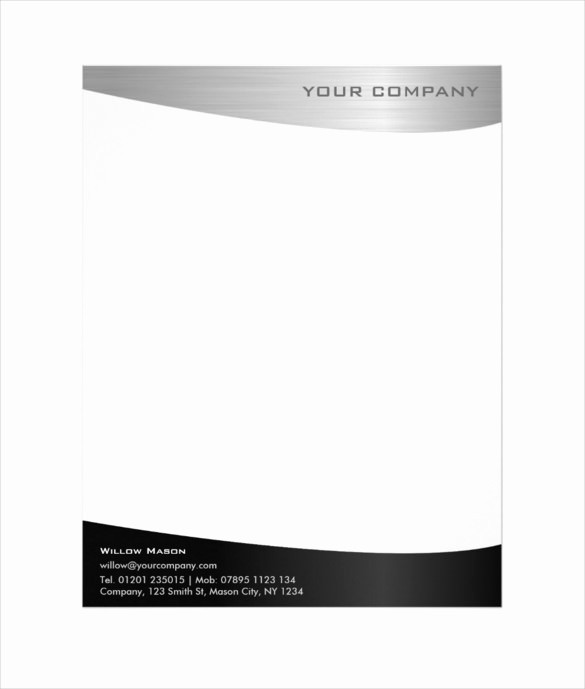 Business Letterhead Templates Free Download Inspirational 37 Professional Letterhead Templates Free Word Psd Ai