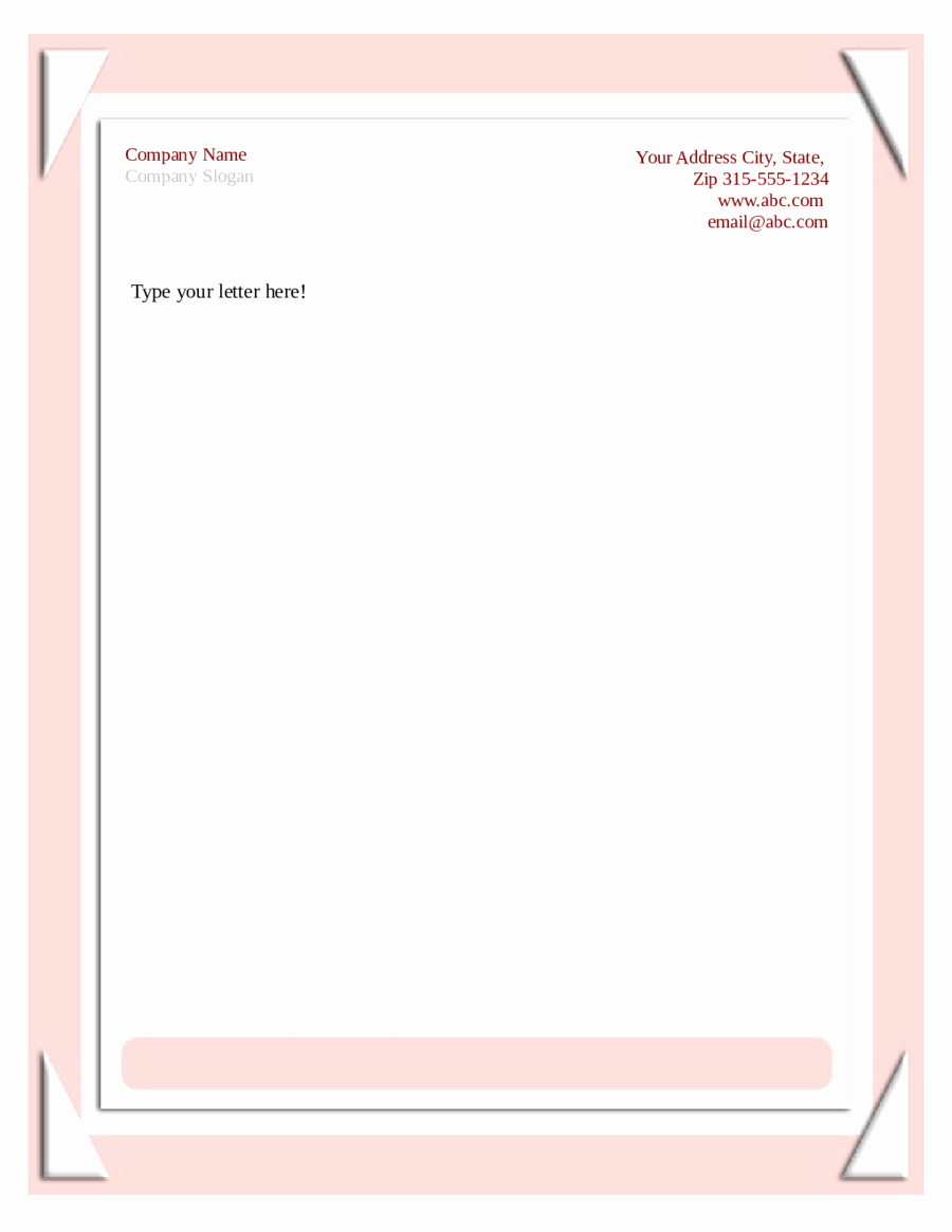 Business Letterhead Templates Free Download Lovely 2019 Business Letterhead Templates Fillable Printable