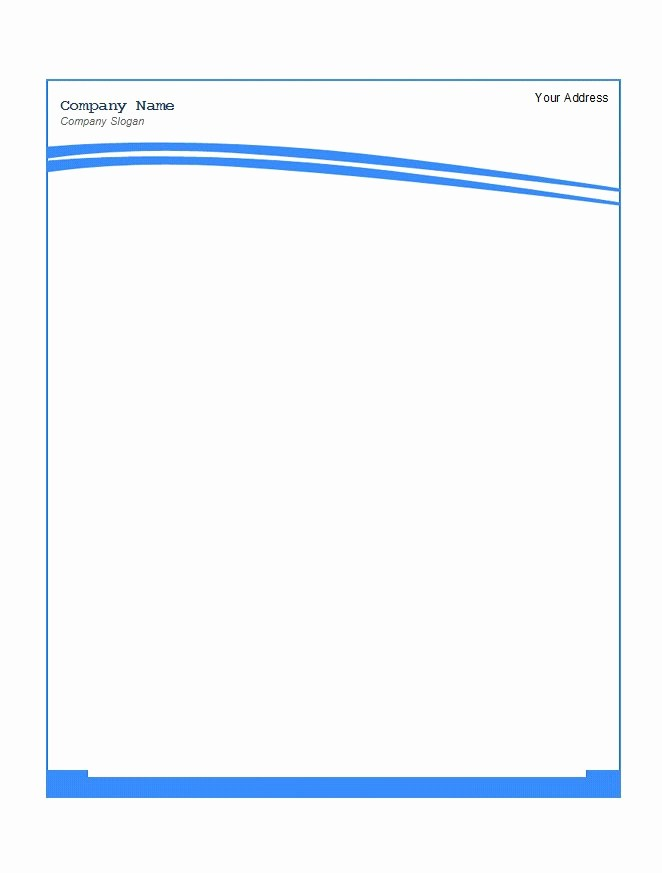Business Letterhead Templates Free Download Lovely 45 Free Letterhead Templates & Examples Pany