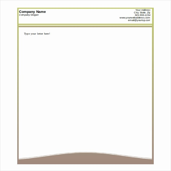 Business Letterhead Templates Free Download Luxury Free Printable Business Letterhead Templates Letter Of