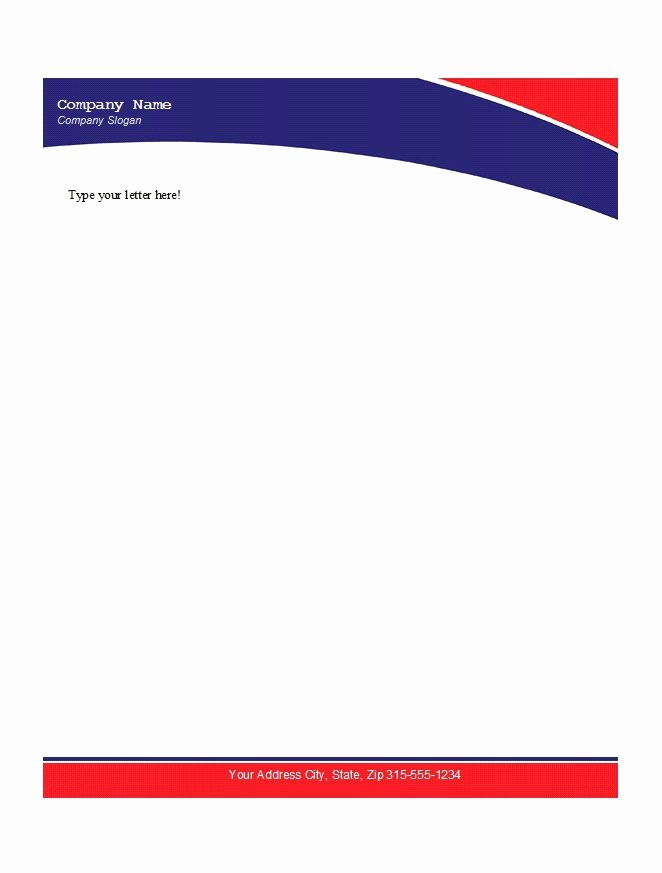 Business Letterhead Templates Free Download New 45 Free Letterhead Templates & Examples Pany