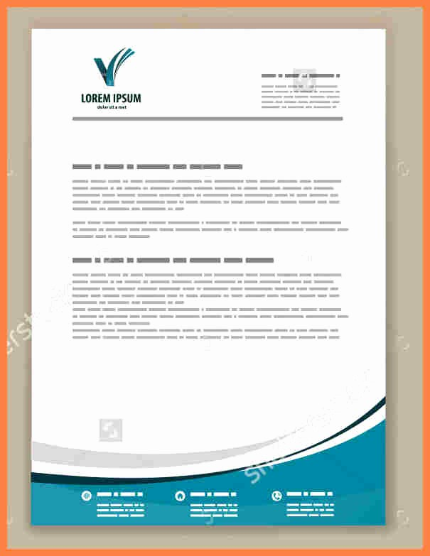Business Letterhead Templates Free Download Unique 6 Best Letterhead Templates