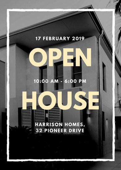 Business Open House Flyer Template Elegant Customize 101 Real Estate Flyer Templates Online Canva