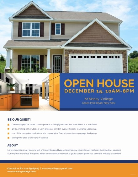 Business Open House Flyer Template Luxury Design Portfolio Template Free Business Open House Flyer