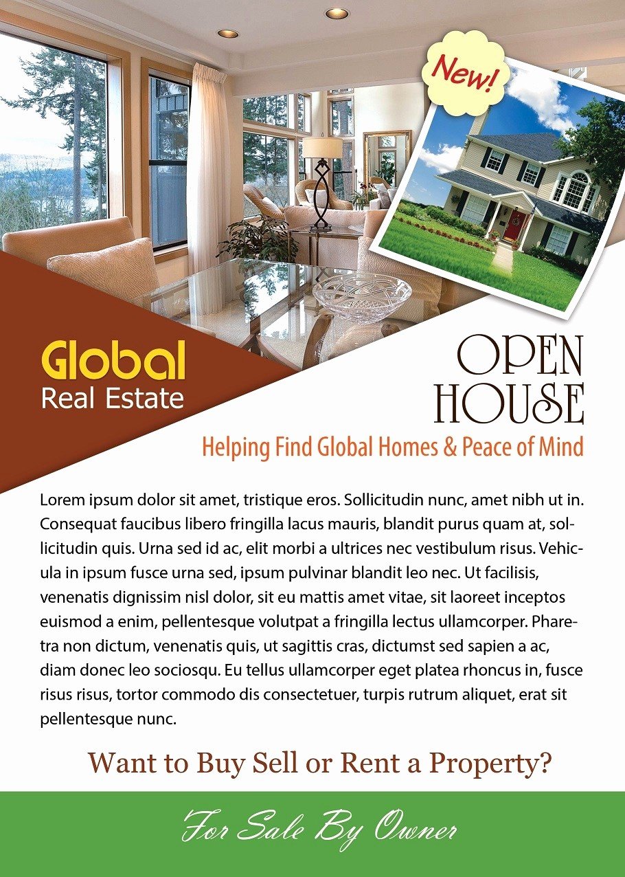 Business Open House Flyer Template New Open House Flyer Template Shop Version Free Flyer