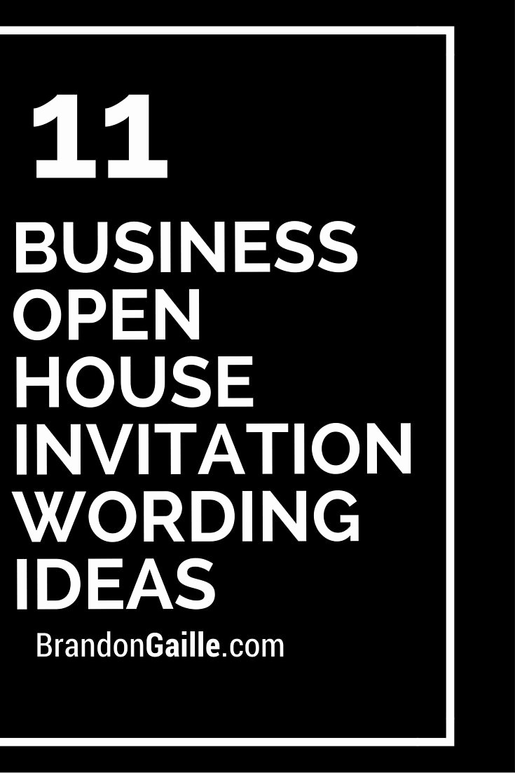 Business Open House Invitation Template Awesome Best 25 Open House Invitation Ideas On Pinterest
