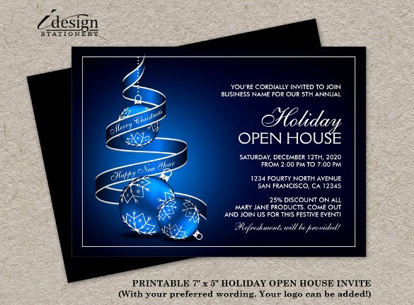 Business Open House Invitation Template Best Of 23 Business Invitation Templates – Free Sample Example