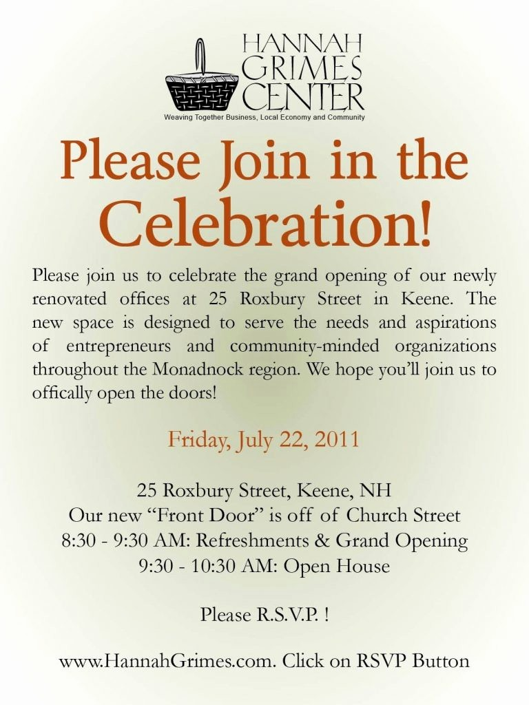 Business Open House Invitation Template Best Of Business Open House Invitation Example Invitation