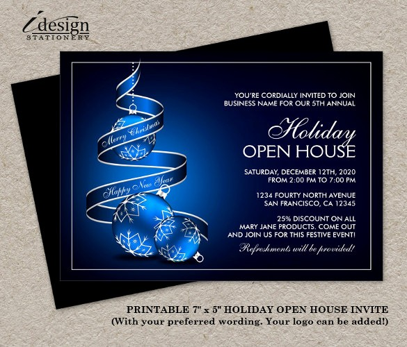 Business Open House Invitation Template Fresh 22 Open House Invitation Templates – Free Sample Example