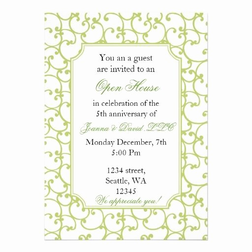 Business Open House Invitation Template Fresh Elegant Corporate Party Invitation
