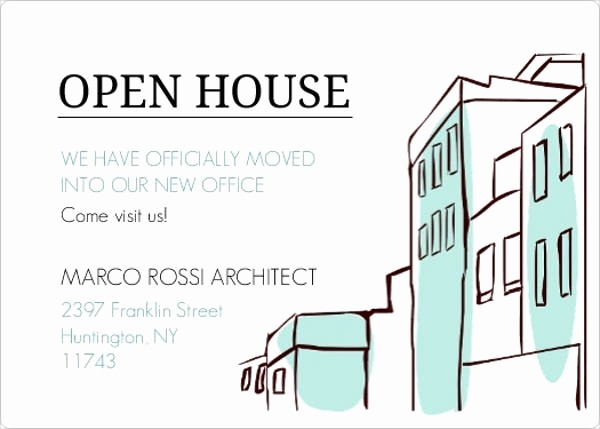 Business Open House Invitation Template Luxury 16 Small Business Invitations Psd Eps