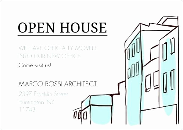 Business Open House Invitation Template Luxury Business Open House Invitation Templates Small Include
