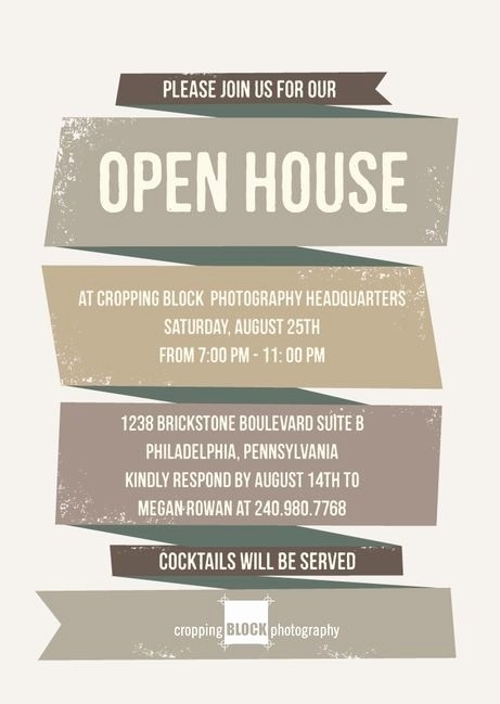Business Open House Invitation Template New Business Open House Invitation Template Templates