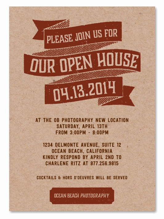 Business Open House Invitation Template New Christmas Open House Invitations Templates Templates