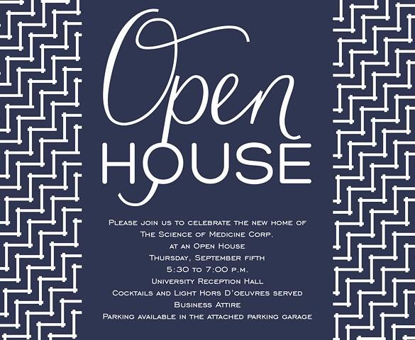 Business Open House Invitation Template Unique 11 Open House Invitation Templates Free Psd Vector Eps