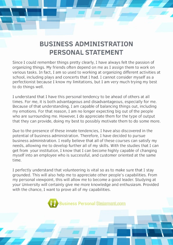 Business P&l Statement Awesome Business Administration Personal Statement Writing