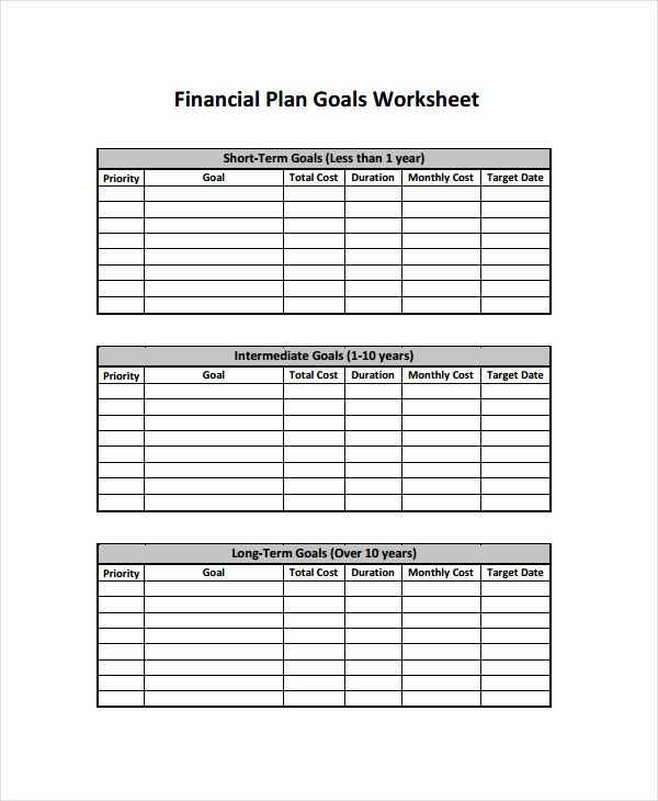 Business Plan Financial Plan Template Fresh 10 Financial Plan Examples Samples