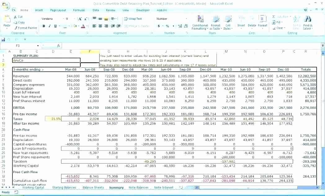 Business Plan Financial Projections Excel Awesome Business Plan Financial Projections Template Excel Luxury