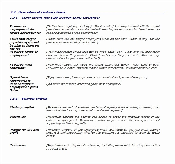 Business Plan Outline Template Free Elegant Business Plan Templates 43 Examples In Word