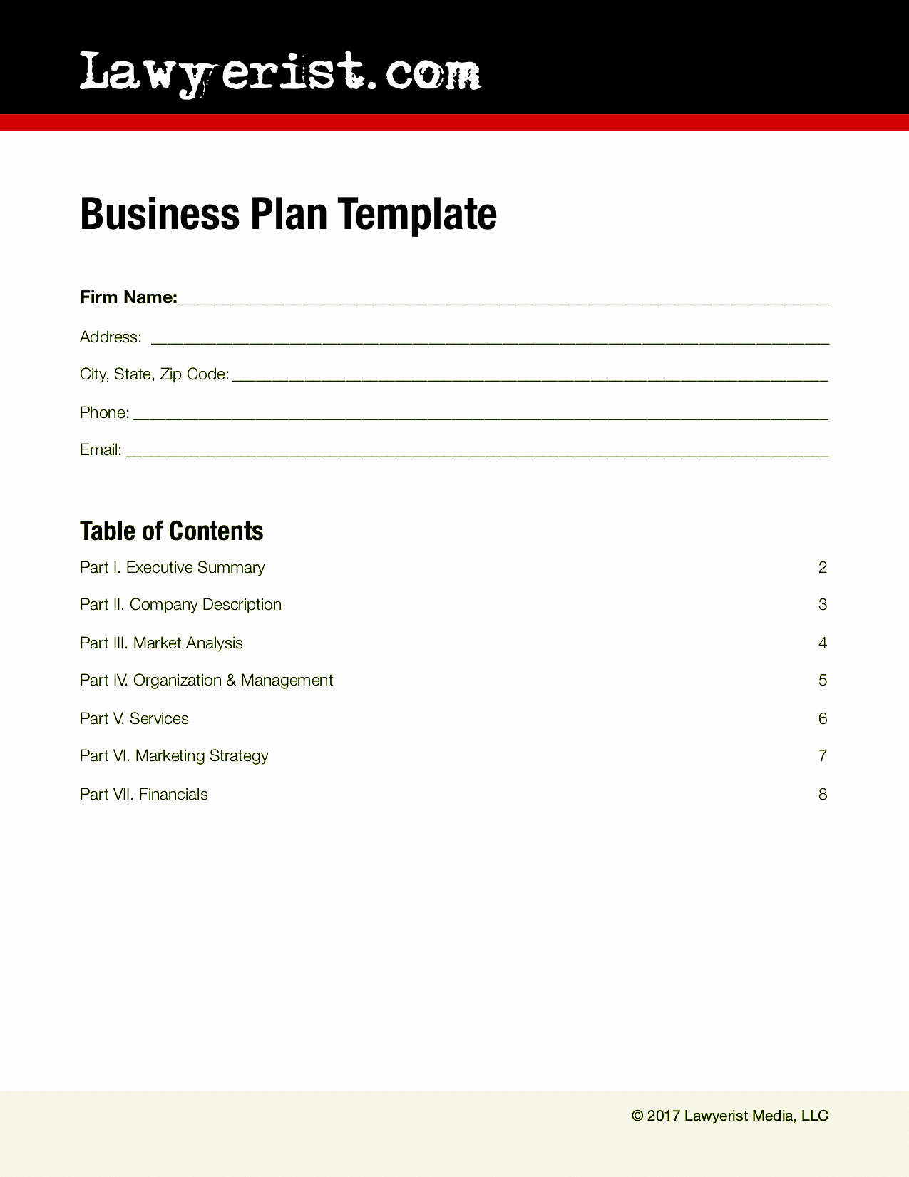 Business Plan Outline Template Free Inspirational Business Plan Template