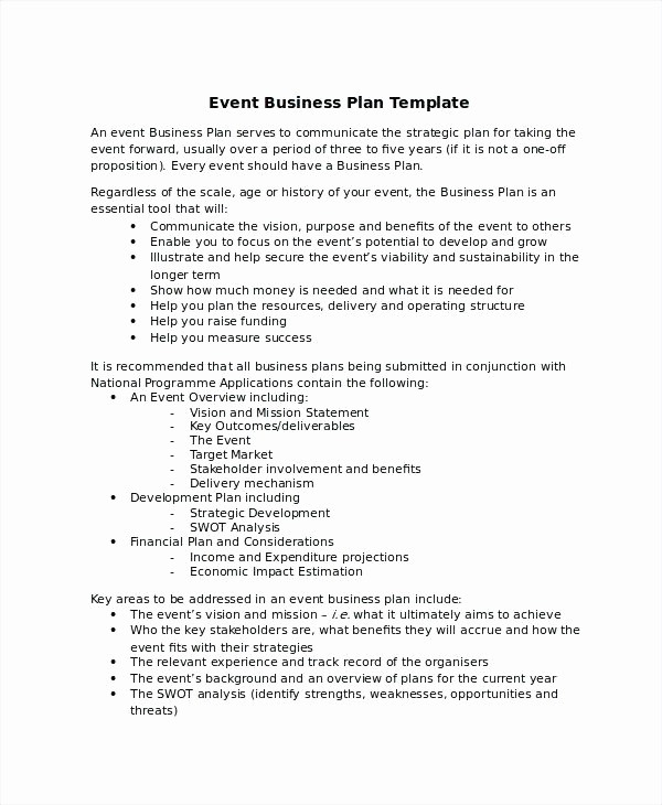 Business Plan Template .doc New New Business Plan Example – Blogopoly