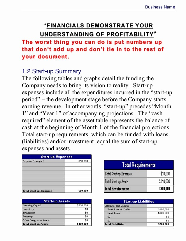 Business Plan Template .doc Unique Business Plan Template Master Plansc""
