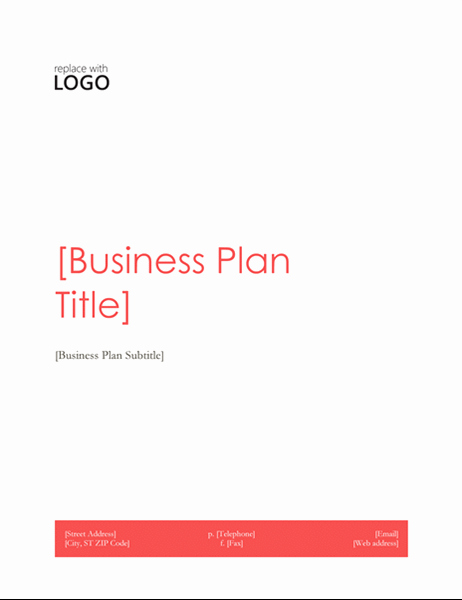 Business Plan Template Microsoft Office Inspirational Business Plan