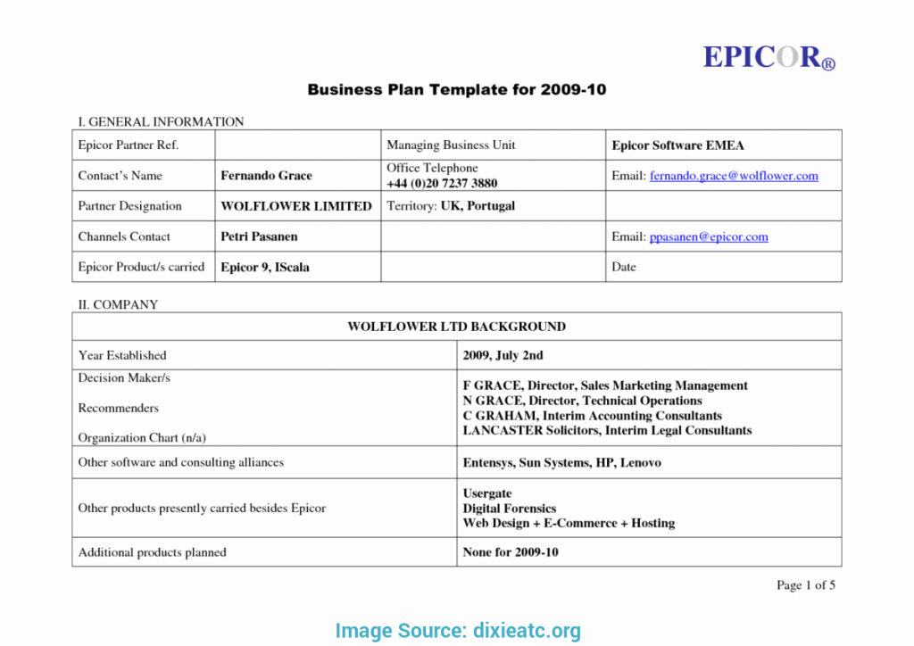 Business Plan Template Microsoft Office Lovely Microsoft Fice 2010 Business Plan Template
