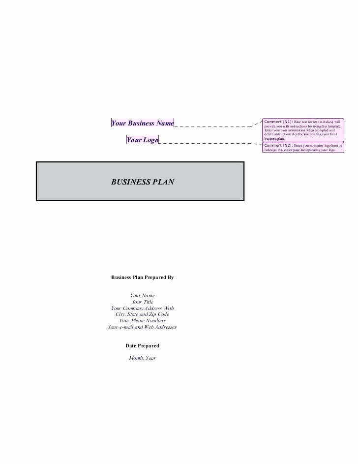 Business Plan Title Page Example Beautiful Business Proposal Cover Page Template Plan Title format