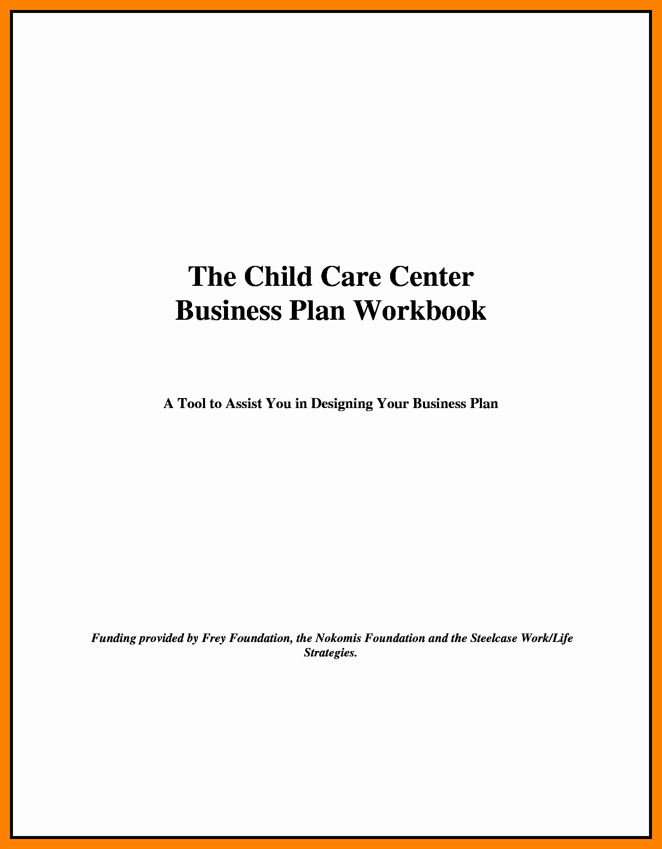 Business Plan Title Page Example Luxury Title Page for Business Plan