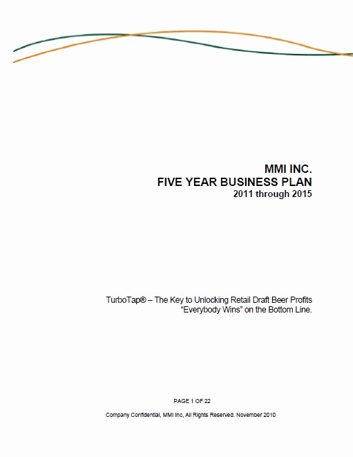 Business Proposal Cover Page Template Awesome Product Repositioning Business Plan