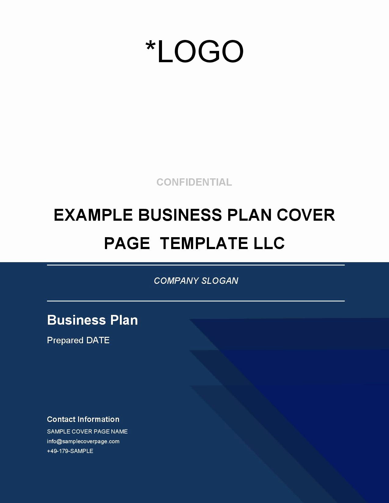 Business Proposal Cover Page Template Unique Blog Brainhive Business Planning