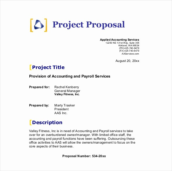 Business Proposal Sample for Services Fresh 32 Business Proposal Templates Doc Pdf