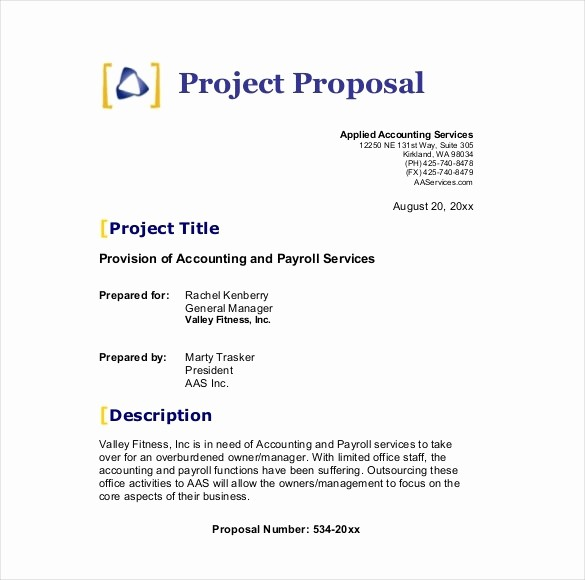 Business Proposal Sample for Services Fresh Business Proposal Template Beepmunk