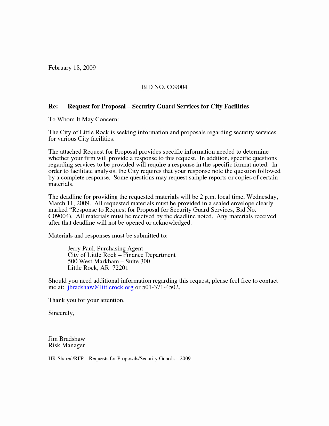 Business Proposal Sample for Services Inspirational 10 Best Of Simple Security Guard Services Sample