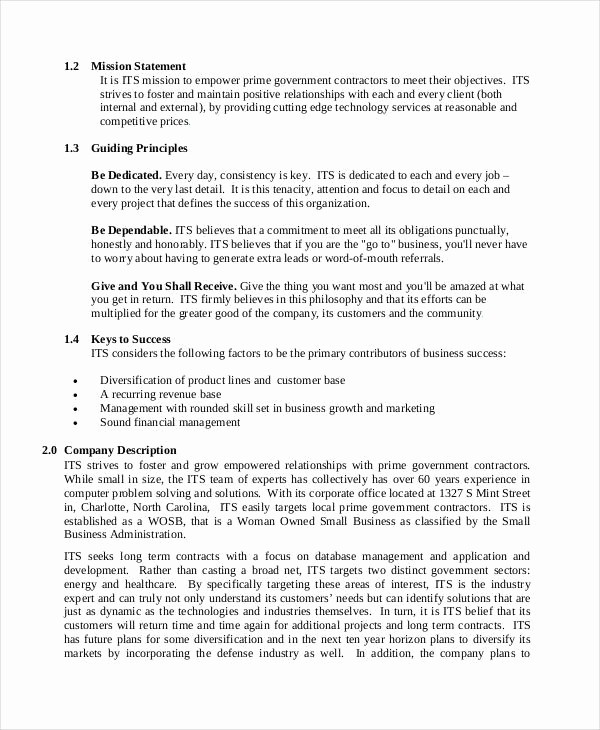 Business Proposal Sample for Services Inspirational 50 Business Proposal Examples & Samples Pdf Doc
