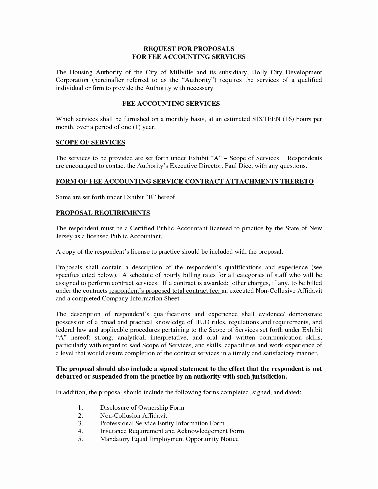 Business Proposal Sample for Services Unique 8 Sample Proposal for Services
