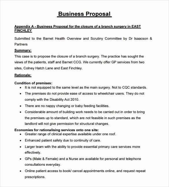 Business Proposal Sample for Services Unique Business Proposal for Services Template Sample Catering