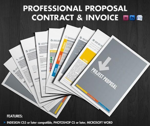 Business Proposal Template Microsoft Word Beautiful 31 Free Proposal Templates Word