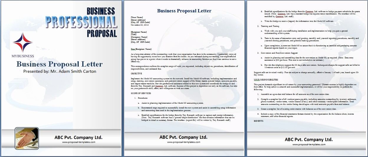 Business Proposal Template Microsoft Word Elegant Business Proposal Template Microsoft Word