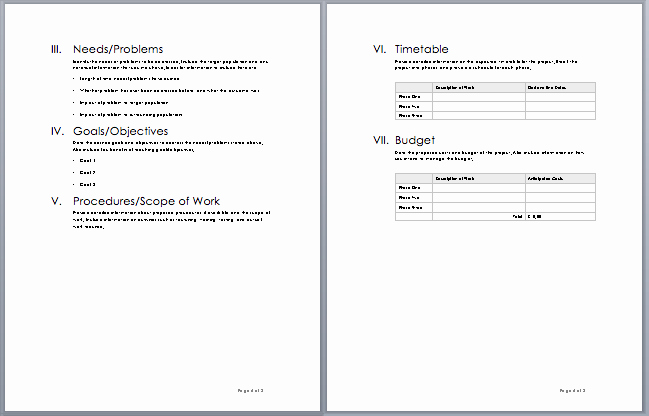 Business Proposal Template Microsoft Word Fresh 20 Free Project Proposal Template Ms Word Pdf Docx