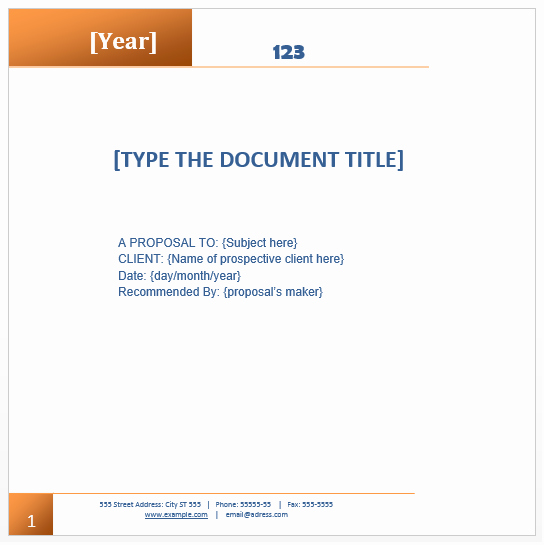 Business Proposal Template Microsoft Word Fresh Proposal Templates Archives Microsoft Word Templates