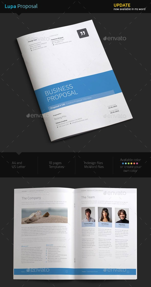 Business Proposal Template Microsoft Word Inspirational How to Customize A Simple Business Proposal Template In Ms