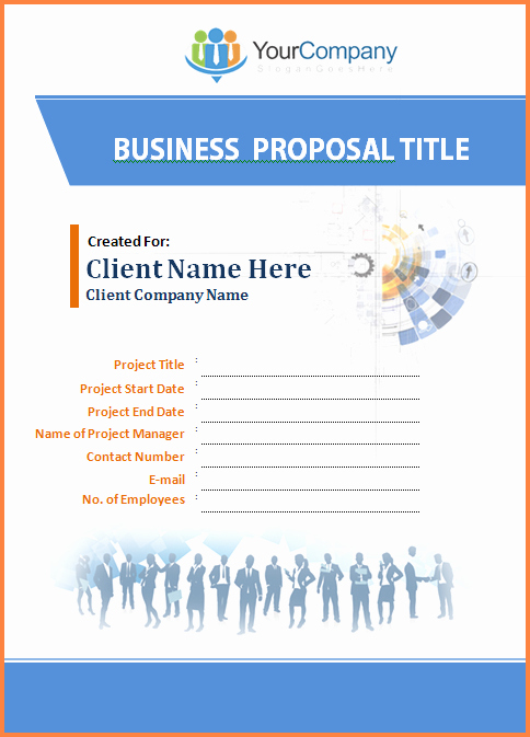 Business Proposal Template Microsoft Word Lovely 4 Business Proposal Template Microsoft Word