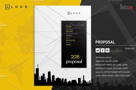 Business Proposal Template Microsoft Word New 20 Creative Business Proposal Templates You Won T Believe