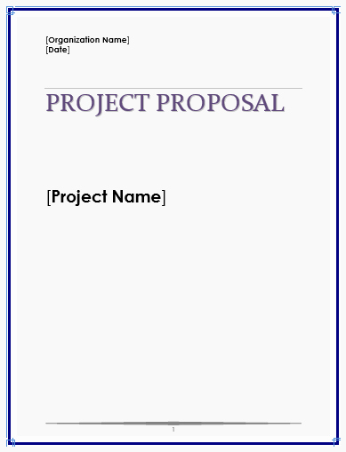 Business Proposal Template Microsoft Word New Proposal Templates Archives Microsoft Word Templates
