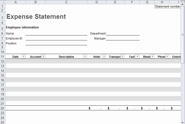 Business Travel Expense Report Template Beautiful Travel Expense Report Template