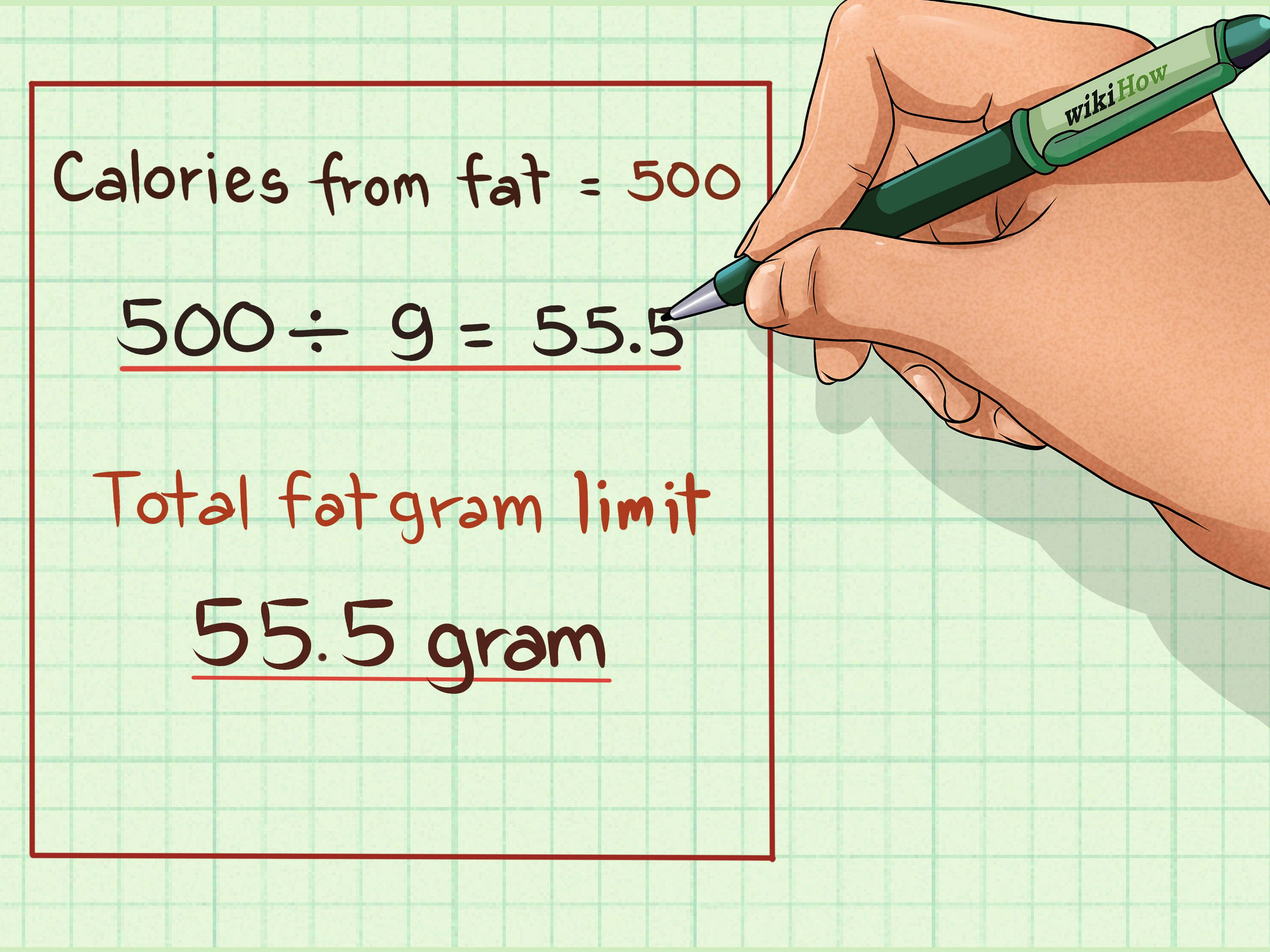 Calculate Fat Percentage In Food Awesome How to Calculate Fat Calories 7 Steps with