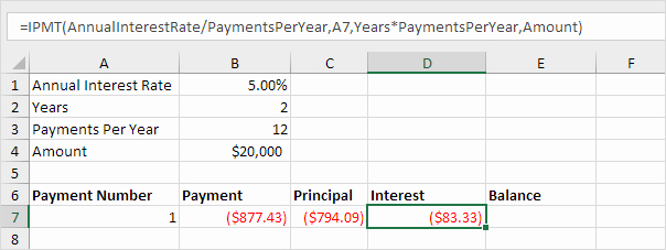 Calculate Monthly Mortgage Payment Excel Best Of Loan Amortization Schedule In Excel Easy Excel Tutorial