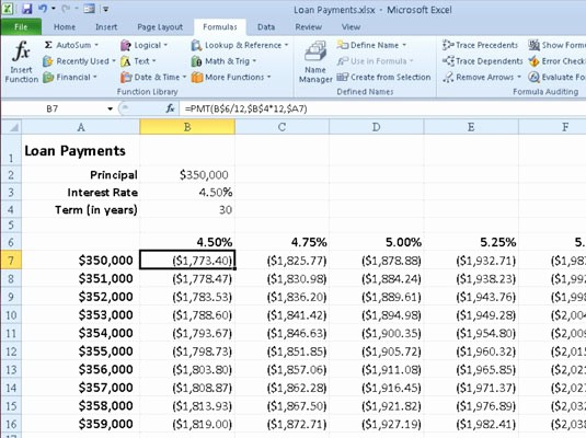 Calculate Monthly Mortgage Payment Excel Luxury Home Loan Calculator Excel formula Amortization formulas